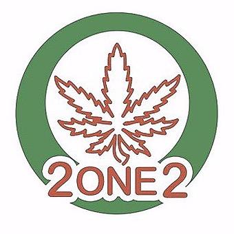 Logo for 2one2 California Dispensary