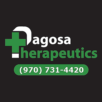 Logo for Pagosa Therapeutics Dispensary & Live CannaGrow